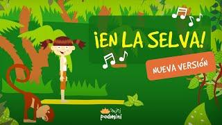 🎶 Canción EN LA SELVA! | MINIPADMINI (Yoga para Niños y Niñas)