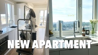 VLOG: moving into a new apartment + empty apartment tour!