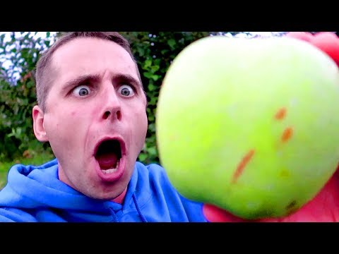 DALE VS RiDICULOUS GIANT FRUITS! I'm going to Explode..
