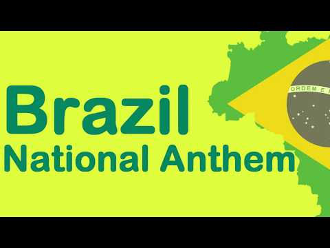 Brazil National Anthem [English/Portuguese sub]
