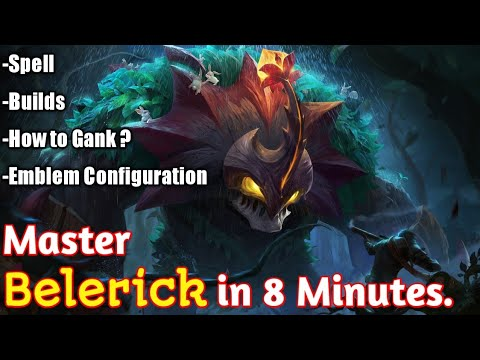 Master Belerick in 8 Minutes| Mobile Legends Bang Bang. thumbnail