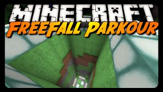 Minecraft: FREEFALL PARKOUR! (Slime Block Map)