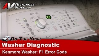 whirlpool kenmore maytag washer diagnostic f1 error code