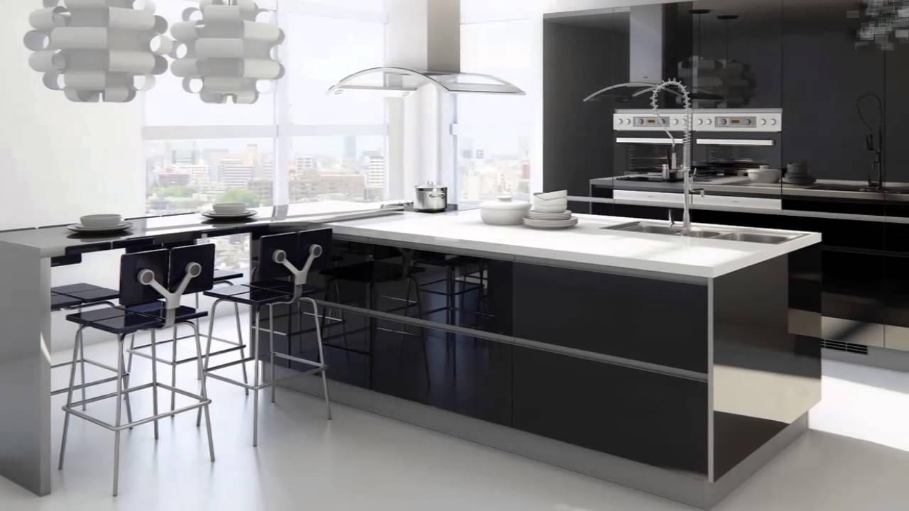 Cucina bianca e nera  YouTube