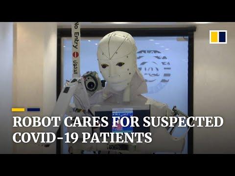 Coronavirus: Egyptian man invents robot nurse he says will lower infection rates of hospital workers
