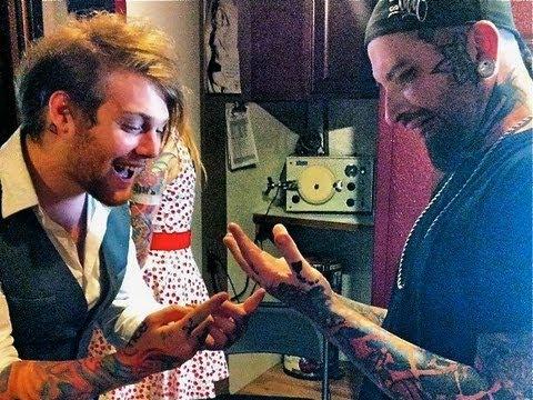 Danny worsnop tattoos