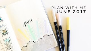 Plan With Me: June 2017