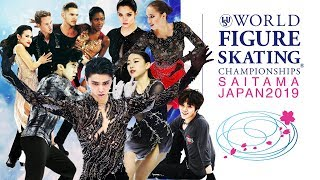 2019 World Figure Skating Championships. Preview.