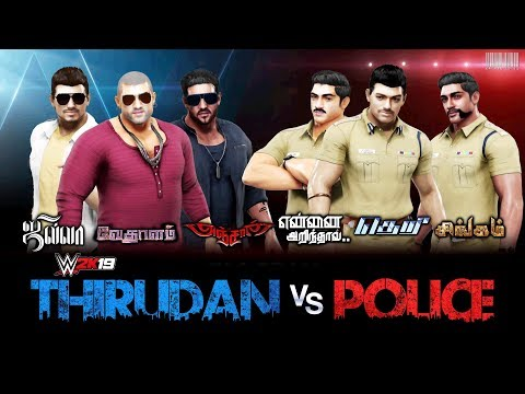 WWE 2K19 - Thirudan vs Police - Tamil Heroes 6-Man Tag Team Match thumbnail