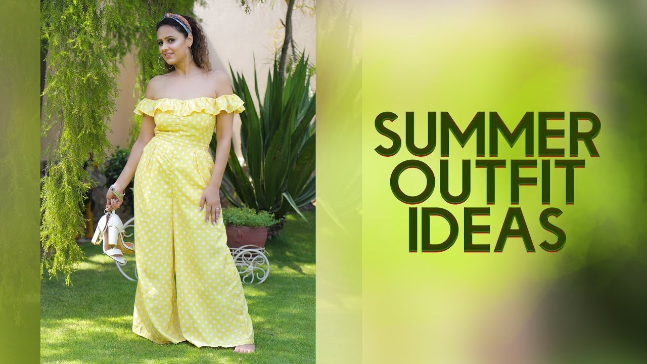 summer outfit ideas 2019 || summer trends 2019