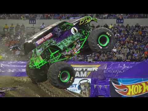 Grave Digger driver Morgan Kane Freestyle | Indianapolis 2018