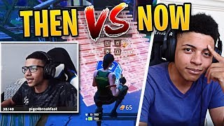 Myth Playing Fortnite Then vs Now | Fortnite Best Moments #61