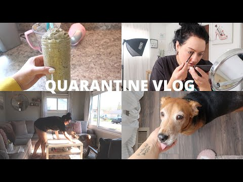 vlog:-clean-with-me,-daily-skincare/makeup-routine,-healthy-smoothie-recipe-&-bathroom-renovation!