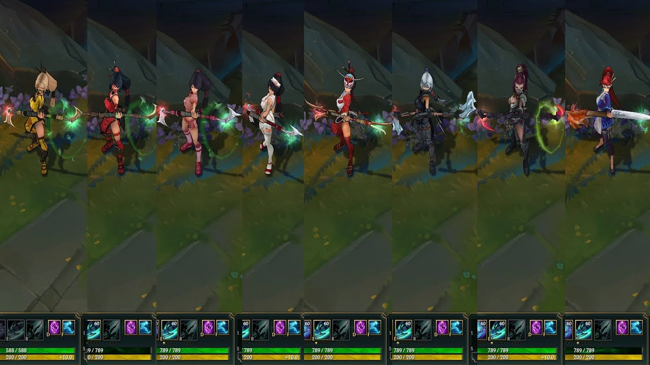 ALL Akali Skins - League of Legends