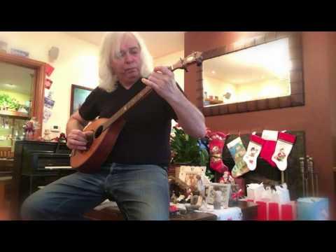 God Rest You Merry, Gentlemen - an ancient Christmas Carol on ancient banjo-mandolin