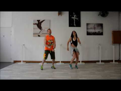 The Weeknd ft Daft Punk - I Feel In Coming - Choréo Zumba Fitness By Denis Souvairan Antibes