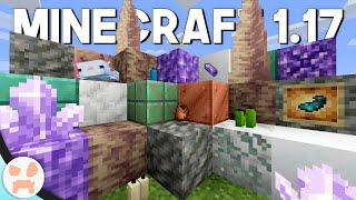 WHATS IN MINECRAFT 1.17 CAVES AND CLIFFS SO FAR?