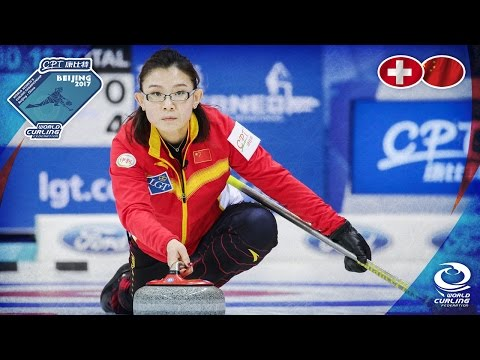Switzerland v China - CPT World Women's Curling Championship 2017