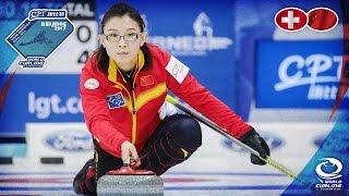 Switzerland v China - CPT World Women's Curling Championship 2017