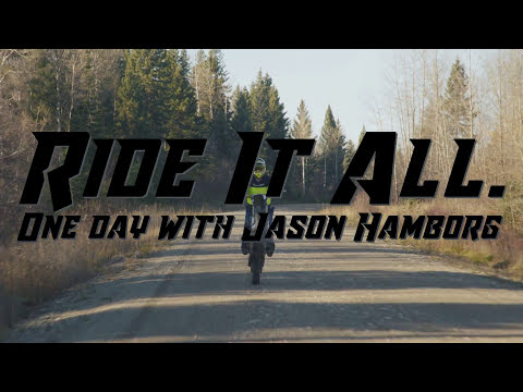 Ride It All. One Day with Jason Hamborg