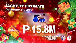 [LIVE] PCSO 4PM Lotto Draw - December 31, 2019 at 12:30PM
