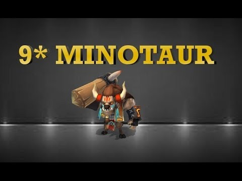 Castle Clash Minotaur Chieftain @9 Stars