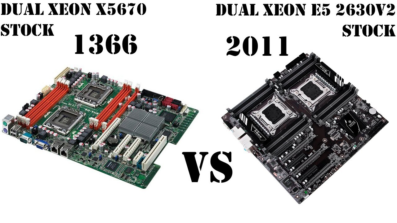 Доступные системы Intel с 12 ядрами и 24 потоками. Как они в работе? Сравнение Dual 1366 vs 2011v1