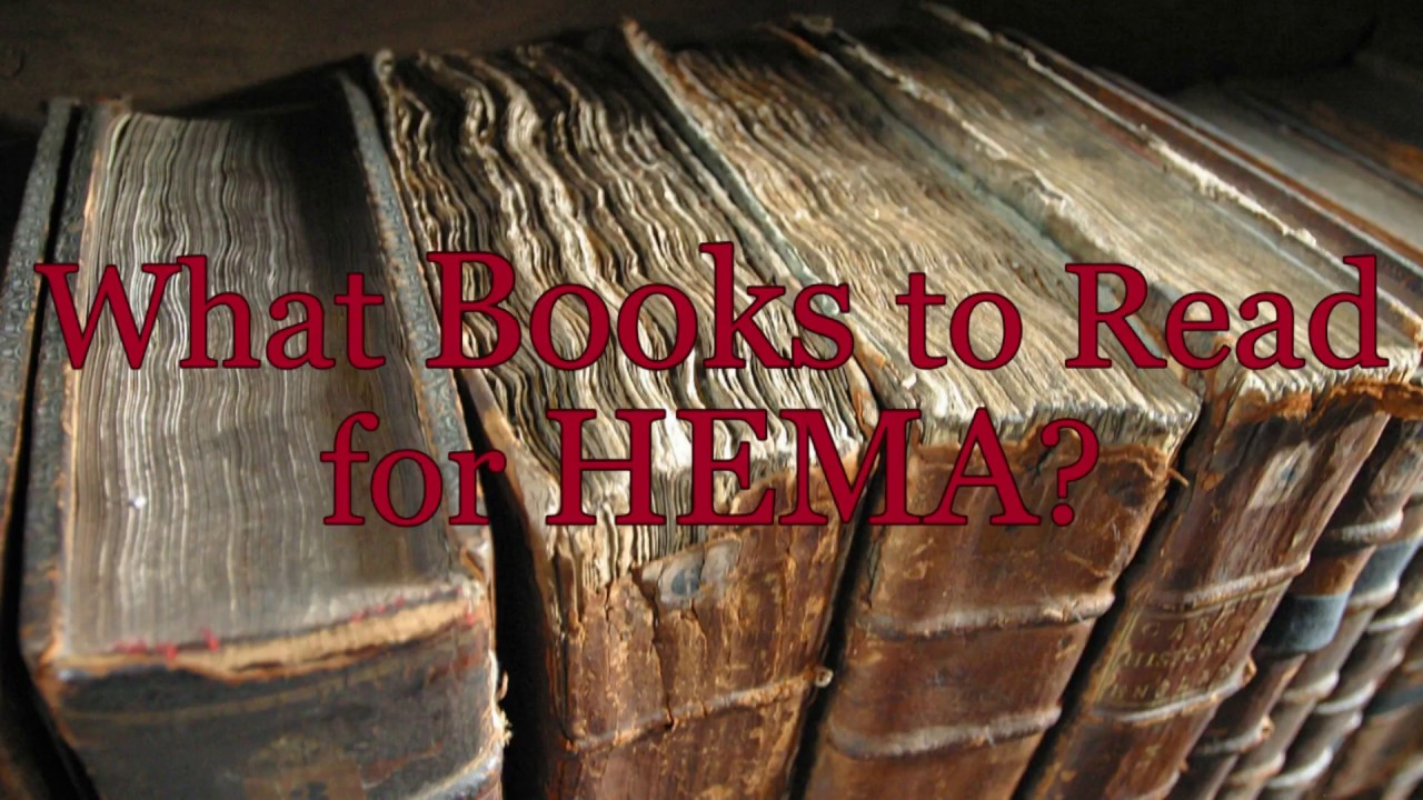 Simple Answers #5: What Books to Read for HEMA?