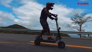 Test Kaabo Wolf Warrior 11 Trottinette Electrique Sportive