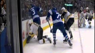 bruins kevan miller boarded by dion phaneuf