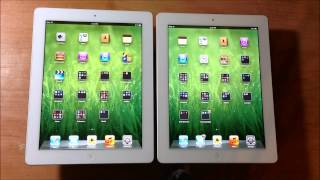 iPad 3 vs iPad 4 Spec Comparison (3rd Gen iPad vs 4th Gen iPad)