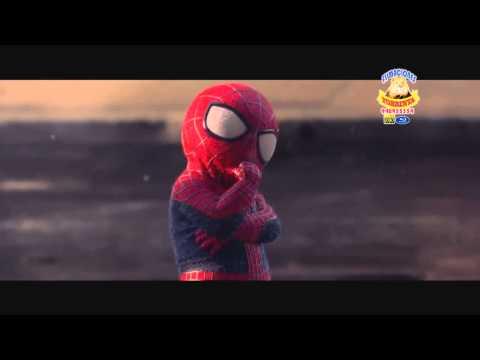 ras tas tas el hombre araña vs hombre arana bebe