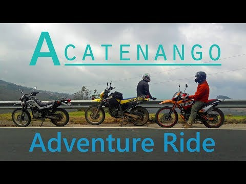 Lake Atitlan to Acatenango Recap // Guatemala // Suzuki DR650