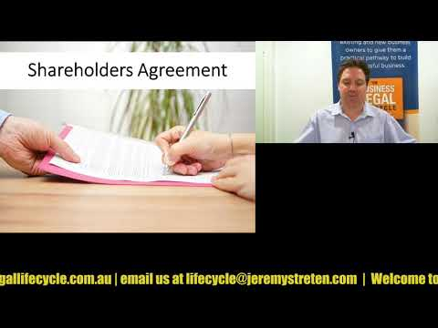 Episode 052 - Agreements with Investors