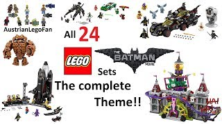 Lego Batman Movie - Compilation of all Sets - The complete Theme