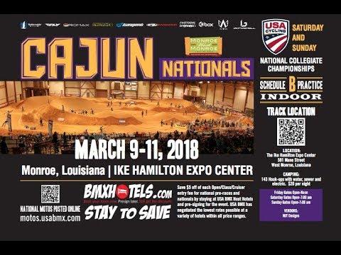 2018 USA BMX Cajun National Day 2 Main Events