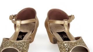 Танцевальные туфли для девочек Соло плюс