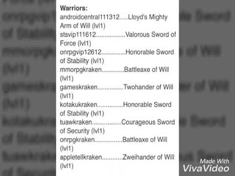 Arcane Legends Promo Codes