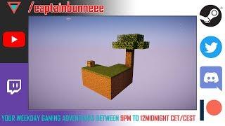 Night stream gaming - Minecraft 1.12.2 - Skyblock Multiplayer - Failed
