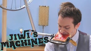 Breakfast Machine (Rube Goldberg) | Jiwi's Machines