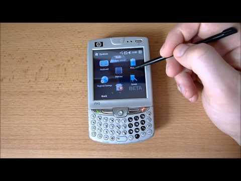 HP iPAQ hw6915 Mobile Messenger WM6.5 build 21916 by Spiaatie for hw6900 HD Video