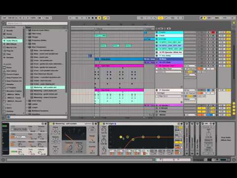 Ableton Operator Future Bass Saw Lead - Sound Design Tutorial