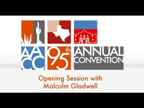 Malcolm Gladwell Keynote from AACC's Annual Convention (2015)