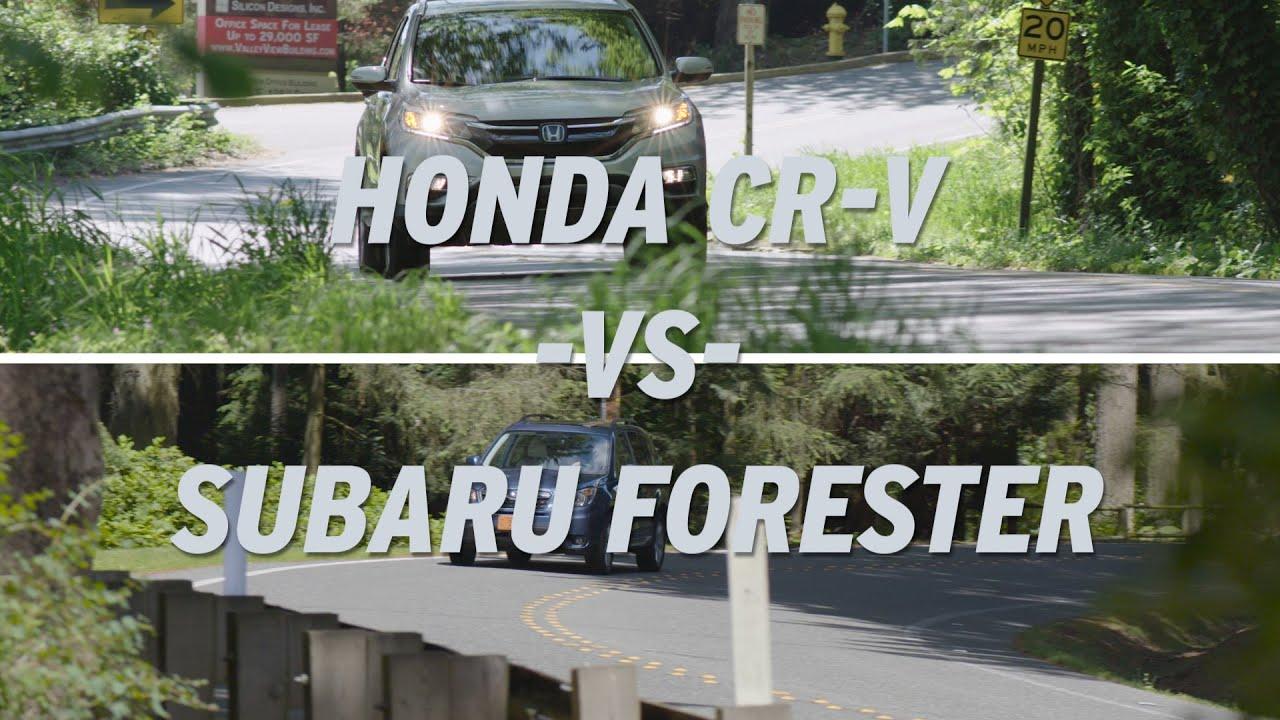 Honda CR V vs Subaru Forester AutoNation