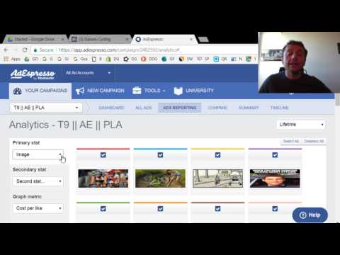 Tracking Facebook Ads Split Tests with AdEspresso - Images, Headlines, Audiences - Funnel Garden
