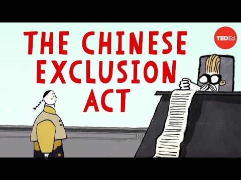 Video image: The dark history of the Chinese Exclusion Act - Robert Chang