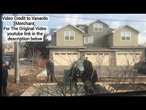 8 Colorado Police Officers Threaten To Shoot A Black Man Picking Up Trash In front Of His Home