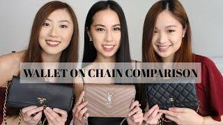 Wallet on Chain (WOC) Comparison (Prada, YSL, Chanel) 2017 | PCC tv