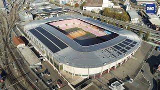 Le Stade de Genève se couvre de panneaux solaires