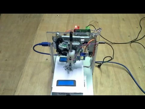 mini cnc plotter arduino pdf